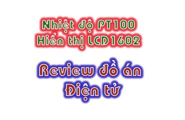 cảm biến nhiệt độ pt100 hiển thị lcd